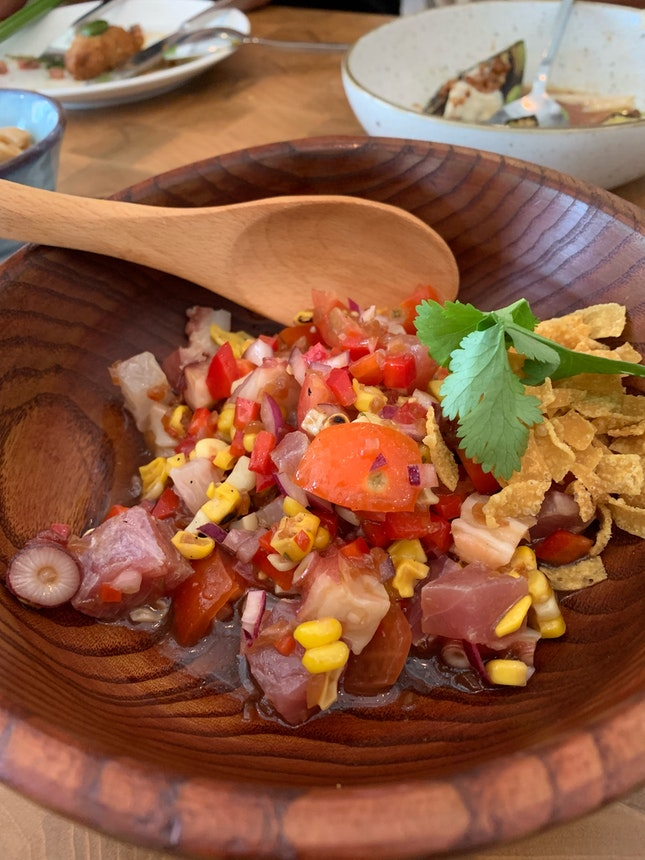Kilo's Seafood Ceviche ($23)