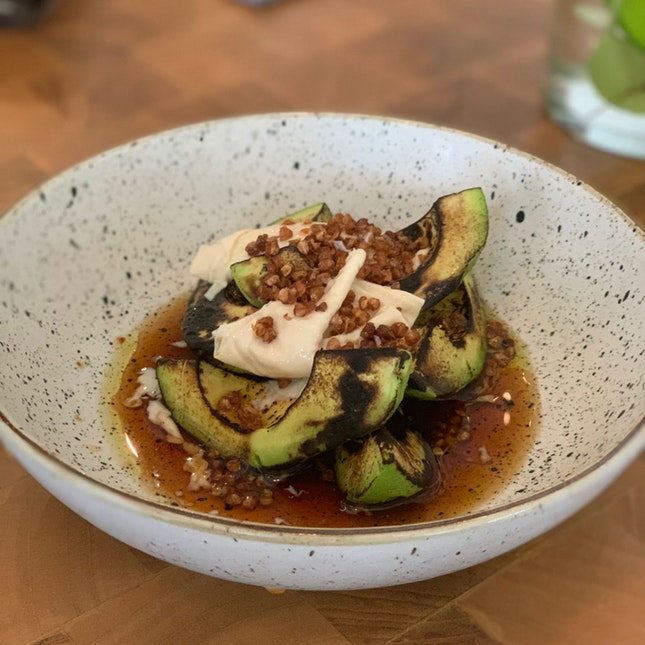 Grilled Avocado ($10)
