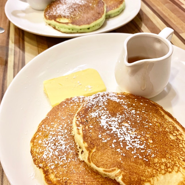 Original & Chocolate Mint Pancakes