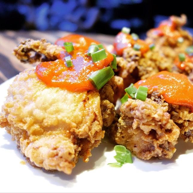 Sriracha Glazed Fried Chicken • S$13++