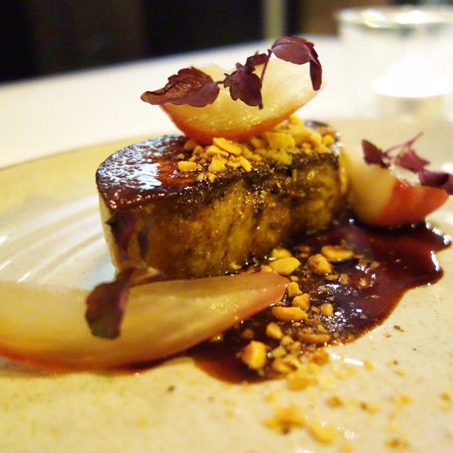 Foie Gras - Five Spice - Rose Apple • S$24++