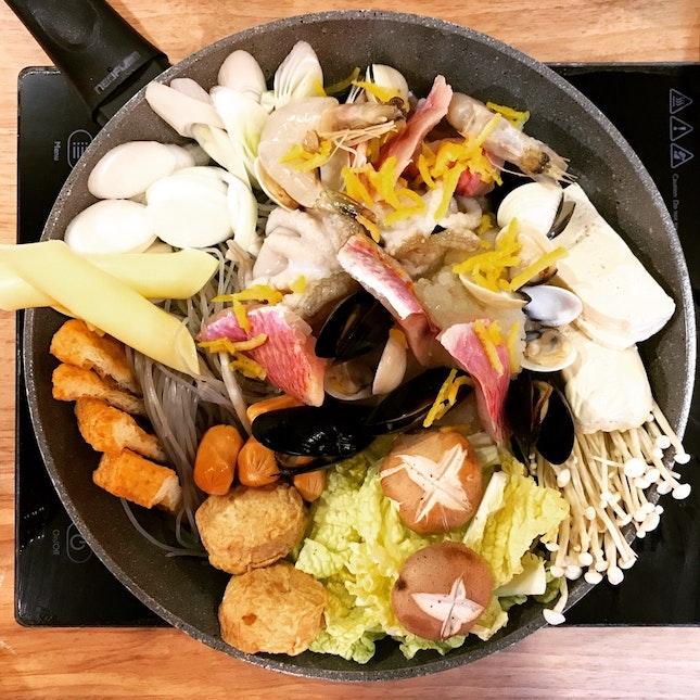Seafood Jjigae • S$16.90/$28.90