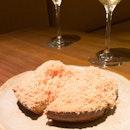 Cedar Jelly and Foie Gras Toast ($18++ for 2 pcs)