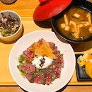 Gyu Set Lunch ($35++)