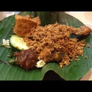 Ayam Penyet With Awesome Belachan!