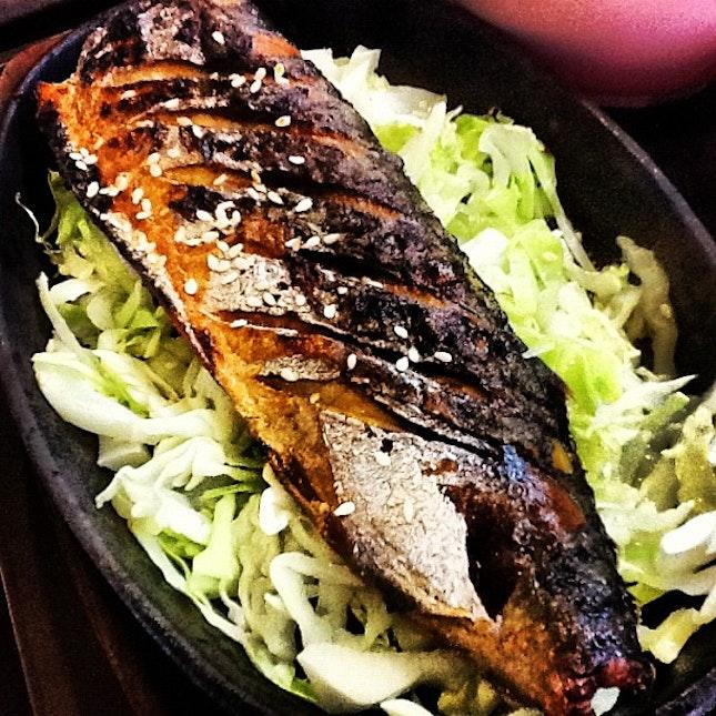 Saba fish hehe #igsg #instafood #foodporn #food #korean