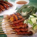 Pork and Mutton Satay from Soon Lee Heng Satay.