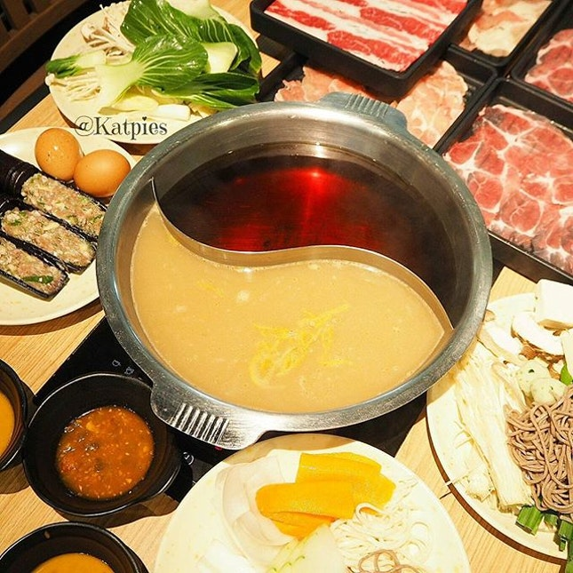 First time trying the hotpot here.