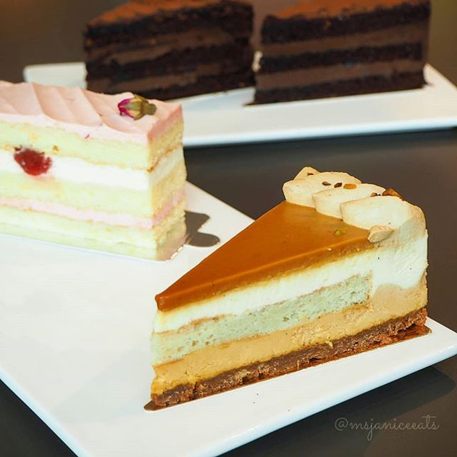 🍰 Sea Salt Caramel Cake | Rose Lychee Cake | Chocolate Indulgence Cake 🍰Take your pick!  You will be spoilt for choice at MØ Café, which offers an eclectic range of fresh and yummy cakes!