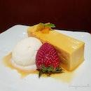 🌟 [NEW ~ LIMITED PERIOD] Aomori Specialty Menu: Pumpkin Soul Pudding & Vanilla Ice Cream (S$8.80) 🌟  An intense pumpkin dessert made with sweet Aomori pumpkin.