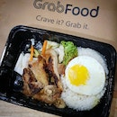 💚 [GRAB FOOD] So Pho ~ Grilled Lemongrass Chicken Set (S$11.56) 💚  I always have a weakness for rice sets with a bright and cheery sunny-side up egg.