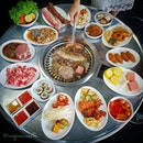 🌟 K.COOK Korean BBQ Buffet 🌟  K.COOK offers Korean BBQ buffet at affordable prices with a diverse spread of fresh meats and seafoods, all-time favourite Korean dishes (Kimchi Pancake, Kimchi, Spicy Rice Cake, Stir-Fried Glass Noodle etc), desserts and drinks, which will definitely satisfy all hungry tummies.