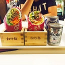 When #sushi & #burrito comes together @krystaltjh #fusion #newdiscovery #foodporn #foodgasm #burpple #igsg #sgig #instadaily #instaworthy #sgfood #whati8today #asahi #throwback