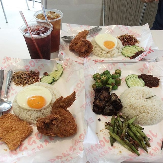 Early dinner with my favorite nasi lemak #burpple #nasilemak #sgfoods #foodies #foodporn