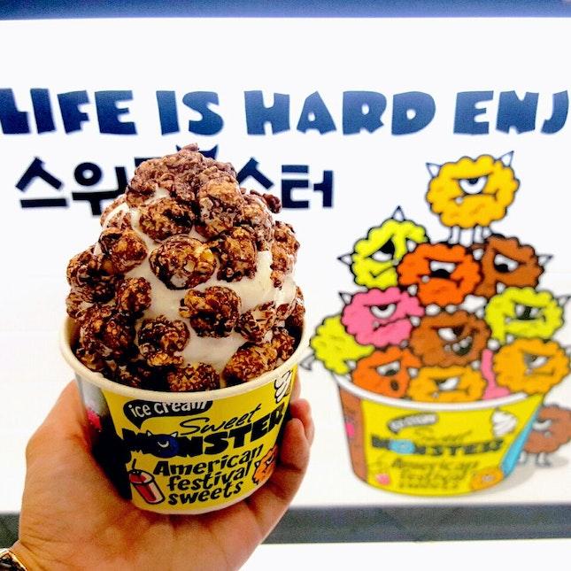 Choco Monster Ice Cream ($6.80)