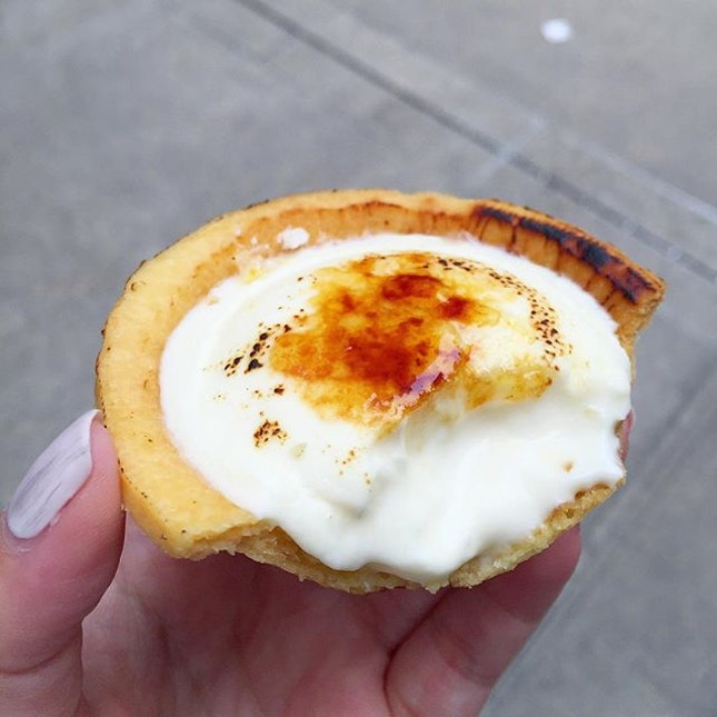 Brûlée Ice Cream Cheese Tart