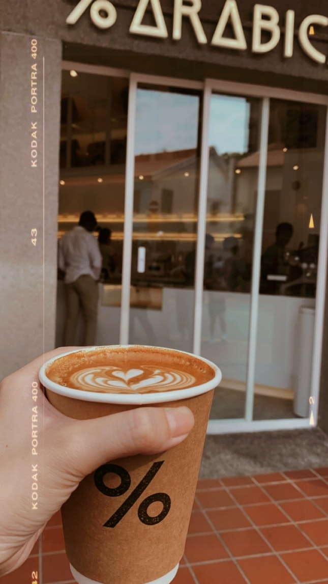 Cafe Latte - $8 (tall)