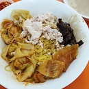 Teochew Style Bar Chor Mee; Noodles with generous amount of ingredients, I love their dumplings!