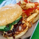 Crispy Pork Burger