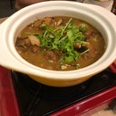 Mushroom Chicken Pot