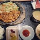 Chicken teppanyaki set #itadakimasu #japanesefood #teppanyaki #burpple #burpplekl