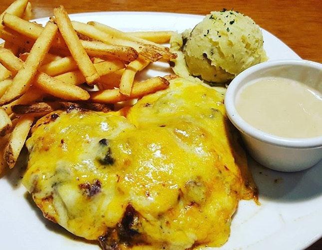 Alice Springs Chicken #burpple #burpplekl #nusentral #tgifsoon #western #cheesy