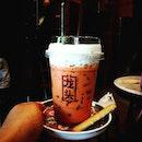 'Sawa-Tea-Ka' Chill in Thai milk tea flavour..
