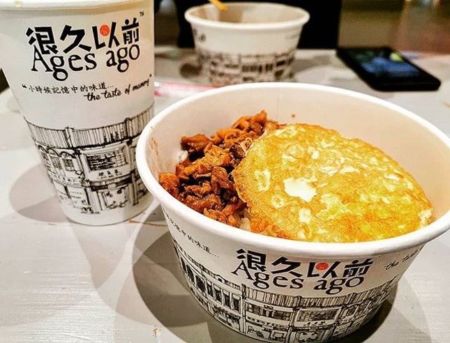 The taste of memory  Sesame oil chicken rice 麻油雞飯(RM9.90)  #agesago #tastememory #麻油雞飯 #sesameoilchickenrice #很久以前 #burpple #burpplekl