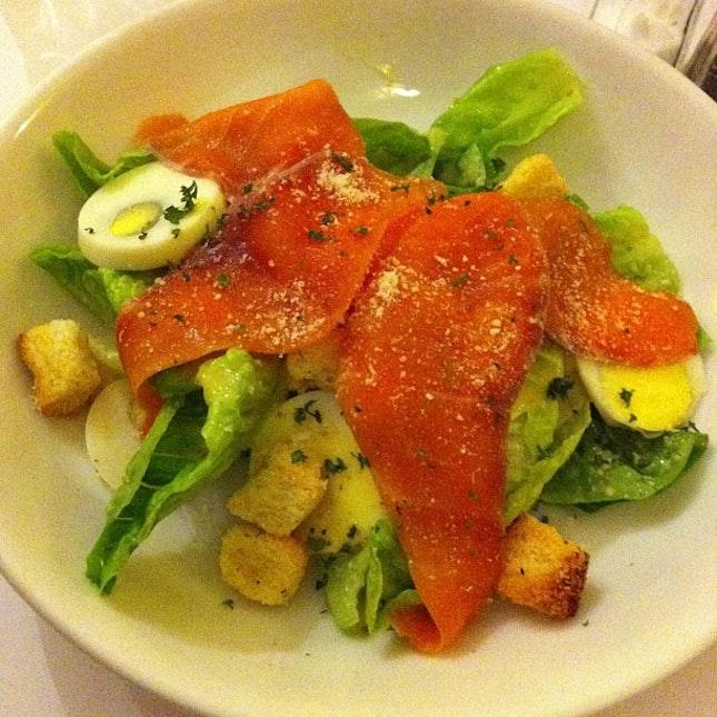 Caesar salad ~~~#bff #dinner #sisters #malaysian #friendship