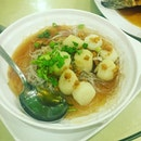 Steamed scallops from @aoneclaypot.