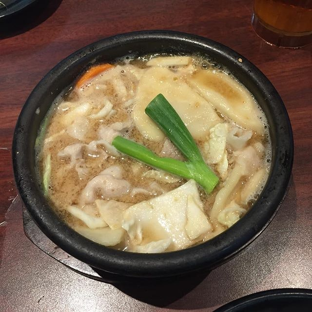 Miso soup pot from Kotsujiru-nabe.