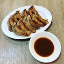 Late night gyoza double serving at Gyoza no Ohsho.