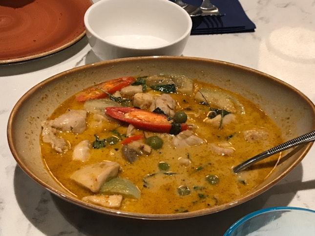 Chicken (Not) Green Curry