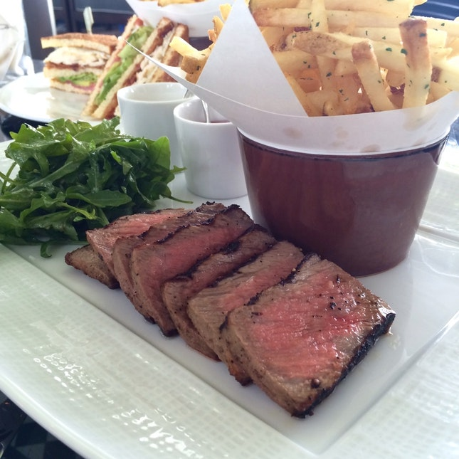 Grilled USDA Prime Sirloin Steak Frites / 59bucks