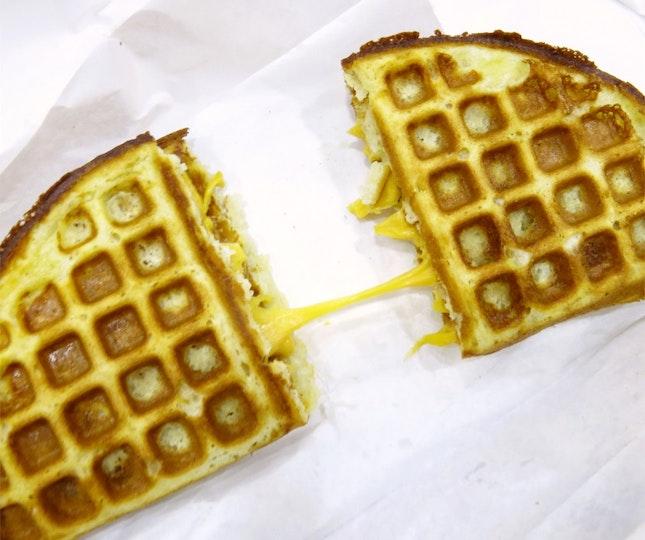 Nacho Cheese Waffle | 2bucks