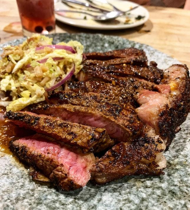 Much Steak at Stake