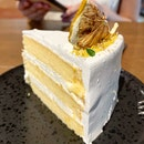 Honey Yuzu Cake