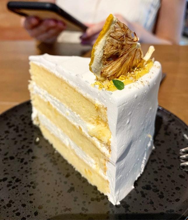Honey Yuzu Cake