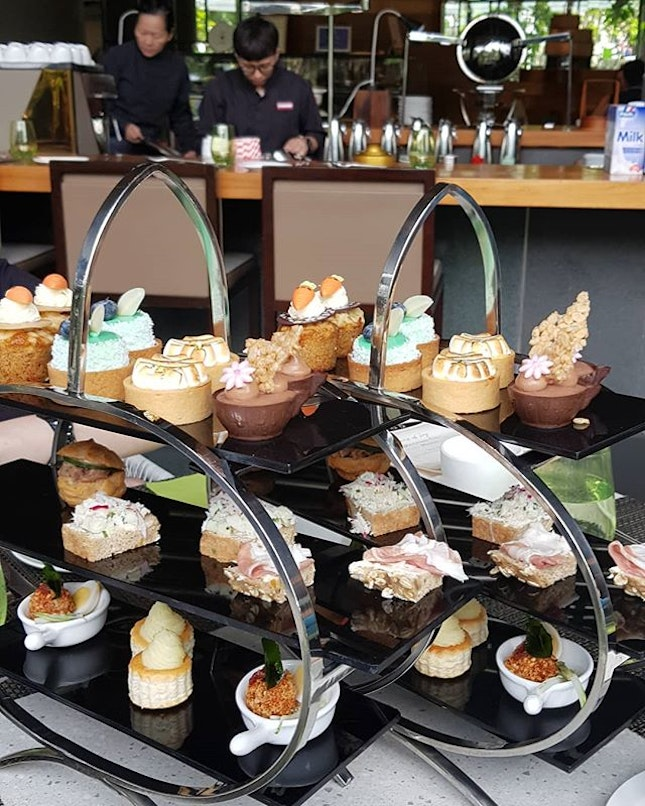 Tiers of Joy (SGD52 - 2pax serving.Includes a high tea set and unlimited servings of specialty coffee and TWG tea).