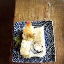 Ebi Kuranc (S$6.50) which is ebi crunch maki roll.