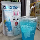 Couldn't resist having this cute drink even though it was already midnight during our last night at Samcheong-dong when we went to sweep up these drinks at the convenience shop to bring back to Singapore.