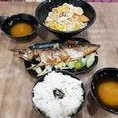 Salmon Don and Saba Shioyaki set #japanesefood #kopitiam #tiongbahruplaza #foodcourt #sgigfoodies #sgfoodies #sgig #igsg #instasg #whati8today #8dayseat #openricesg #burpple #burppleSG #epochtimesfood #hungrygowhere #fatclayfood #thegrowingbelly #iweeklyfood #foodphotography #foodstagram #STFoodTrending