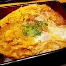 Yayoi lunch at 50% discount thanks to Eatigo 🤗 My Katsu Jyu and Mei's Mixed Toji.