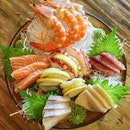 Just had sashimi last night and today, I did it again!