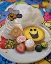 MR Happy's Cheerful Calamansi Strawberry Tart ($18.90) .