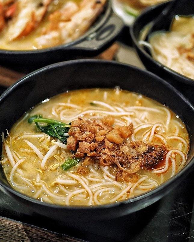 Craving for Prawn Noodles .