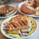 Breakfast is not complete without this local iconic Kaya Toast with Soft-Boiled Eggs.