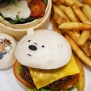 Ice Bear Terrific Teriyaki Chicken Katsu Burger ($23.90) Available @kumoya_singapore till 12 April 2020.