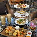 """@interconsin has introduced the Classis Afternoon Tea """"The Garden"""" a three tiered showcase of a luscious delights with signature tea-infused and fruity ascent."""