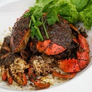 Lai Bao 13 Spices Black Pepper Crab ($30.00/ 1 crab or $50.00/2 crabs) .